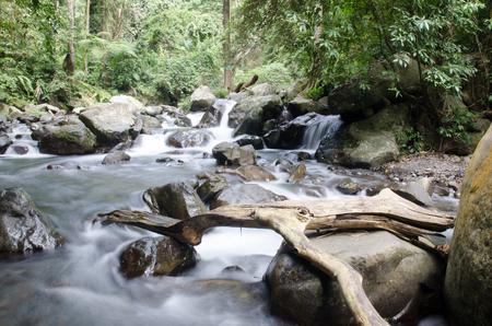Cascade waterfall, Rinjani Mountain, Indonesia