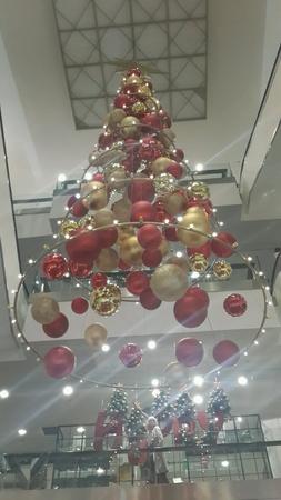 decor: Ball decor for christmas festival