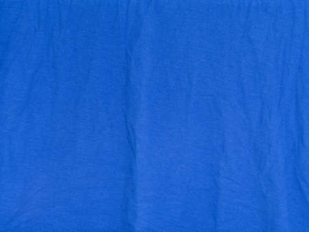 crumple: blue cloth with crumple, background