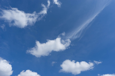 softly: blue sky and softly cloud Stock Photo
