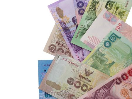 scatter: Thai money scatter