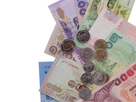 disperse: Thai money scatter