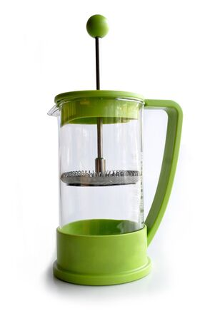 french press Stock Photo