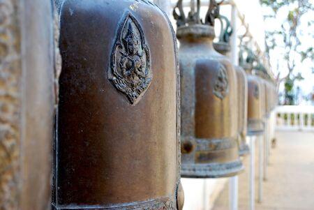 ordelijk: Bell ordelijke hang Stockfoto