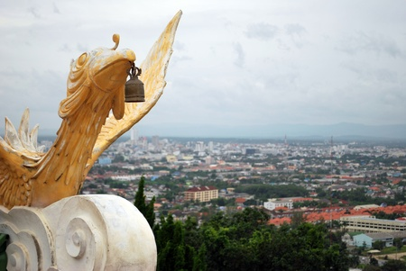 View point Hat Yai Stock Photo