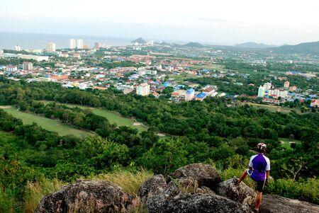 Aussichtspunkt Khao Hin Lek Fai Hua Hin in Thailand