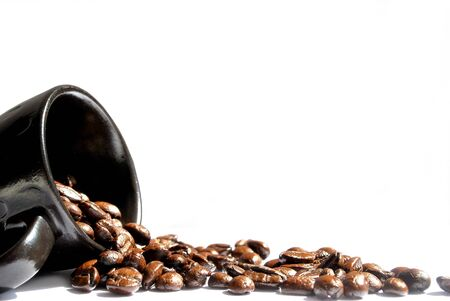 countenance: Backgrounds beans coffee coler white