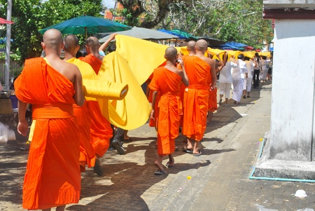 International Makha Puja Hae Pha Khuen That Festival at Nakhon Si Thammarat