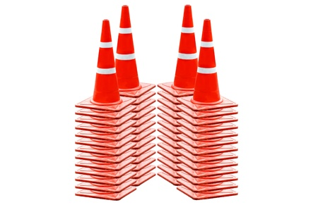 obstruct: It is on cones road Stock Photo