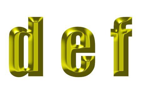 e u: The small print gold