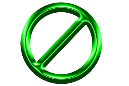 endangering: stop no admittance