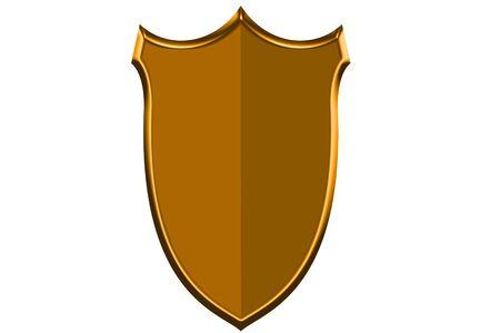 circumspect:  Protective shield Stock Photo