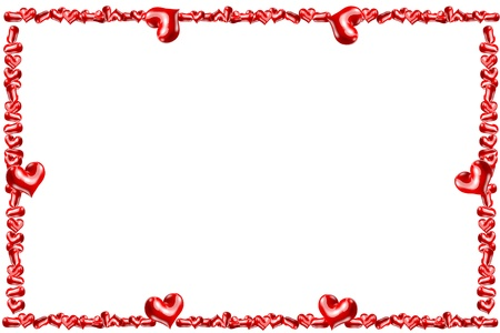 Heart frame photo