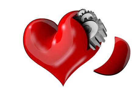 jig: Heart, not machines Stock Photo