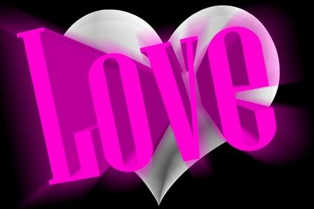 heart very: Pure love