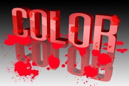 The colors are vibrant Stock Photo - 15571945