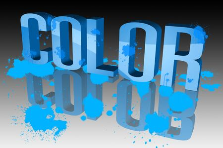 The colors are vibrant Stock Photo - 15571949