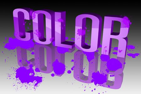 The colors are vibrant Stock Photo - 15571952