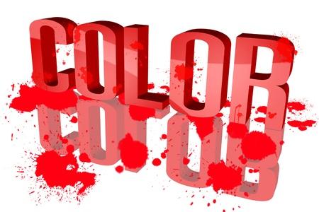 Farbverteilung Rad