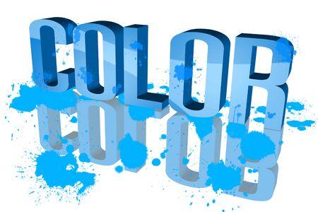 paleta de caramelo: Color de la distribución de la luz azul