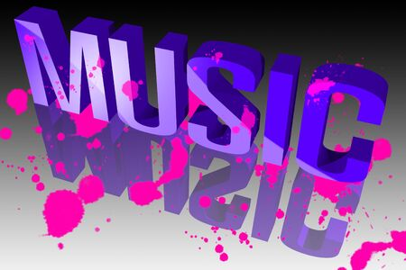Colors of music Stock Photo - 15571876