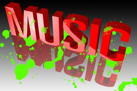 Colors of music Stock Photo - 15571874