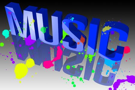 Colors of music Stock Photo - 15571882