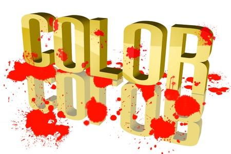 Farben sechsten sloppy
