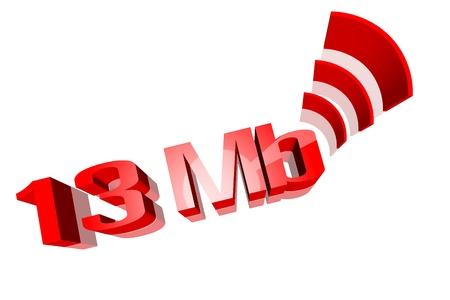 rapidity: Speed,The Internet  Stock Photo