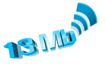 celerity: Speed,The Internet  Stock Photo