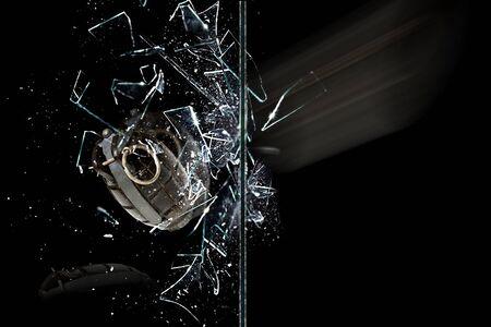 circumspect: Bomb glass