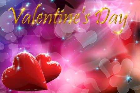Valentine s Day gold
