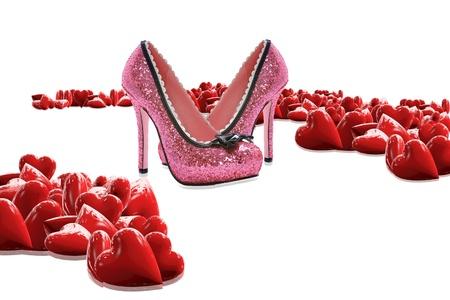 Valentine s Day Geschenke Lizenzfreie Bilder