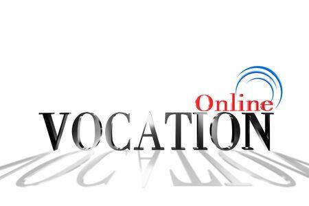 Vocation 3D Stock Photo - 17682547