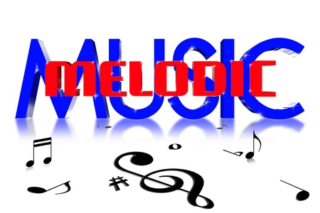 jaunty: Melodic in the center of the music 3D