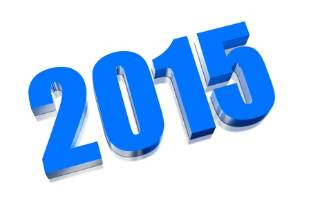 specify: 3D Happy new year 2015