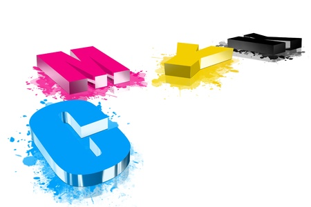 categories: Four categories of three-dimensional CMYK