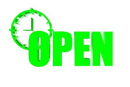 unbar: Open three-dimensional green