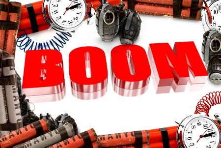 circumspect: Three dimensional red boom
