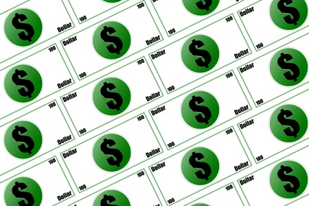 three dimensions: Three dimensions counterfeit money