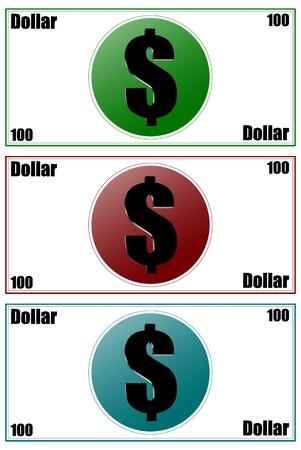 Three dimensions counterfeit money Stock Photo - 18658567