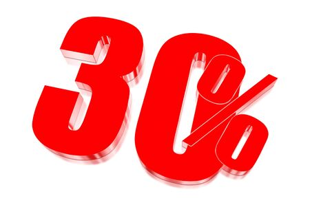 injurious: 30 percent discount on three-dimensional