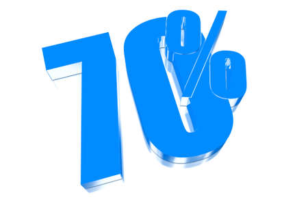 injurious: 70 percent discount on three-dimensional