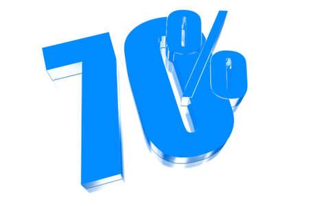 injurious: 70 por ciento de descuento en tres dimensiones