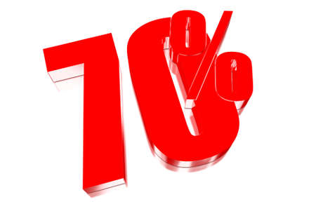 70 percent discount on three-dimensional photo