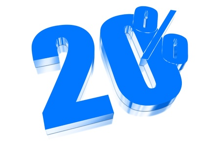 injurious: 20 percent discount on three-dimensional