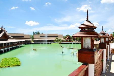 Floating Na HuayMongKol shopping source  The new town of Hua Hin Thailand