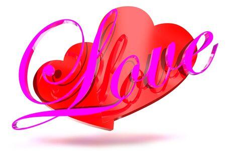 Love 3D photo