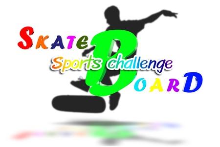 Skate boatd 3D