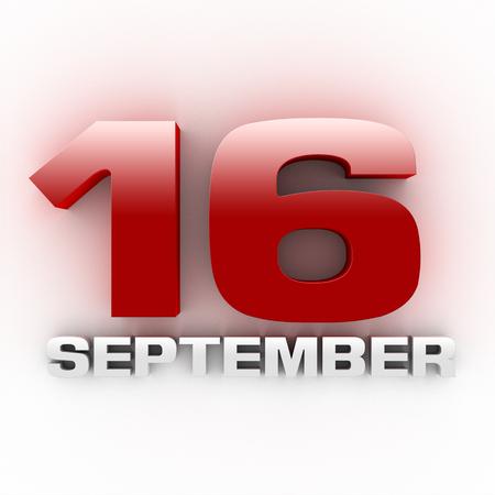 Three-dimensional September 16 Stepfamily Day